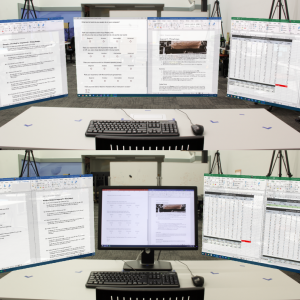 Do we still need physical monitors? An evaluation of the usability of AR virtual monitors for productivity work
